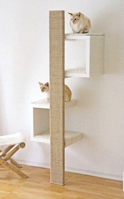 ein g nstiger designer kratzbaum kratzm bel mit sch nem design home katzen kratzbaum. Black Bedroom Furniture Sets. Home Design Ideas