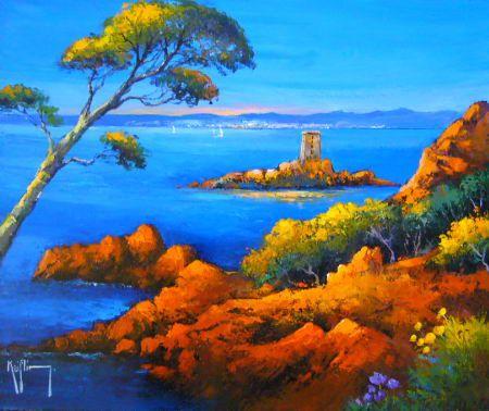 peinture tableau paysage tunisie - Recherche Google | Art ...