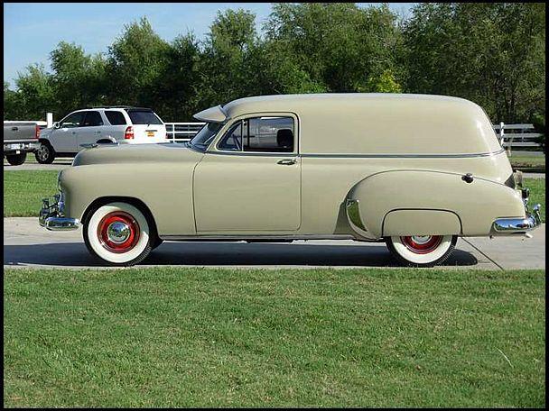 1951 Chevrolet Fleetline Deluxe - Conceptcarz