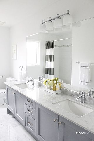 Paint Colors Featured On HGTV Show Fixer Upper Favorite Paint - Grey cabinets marble countertops