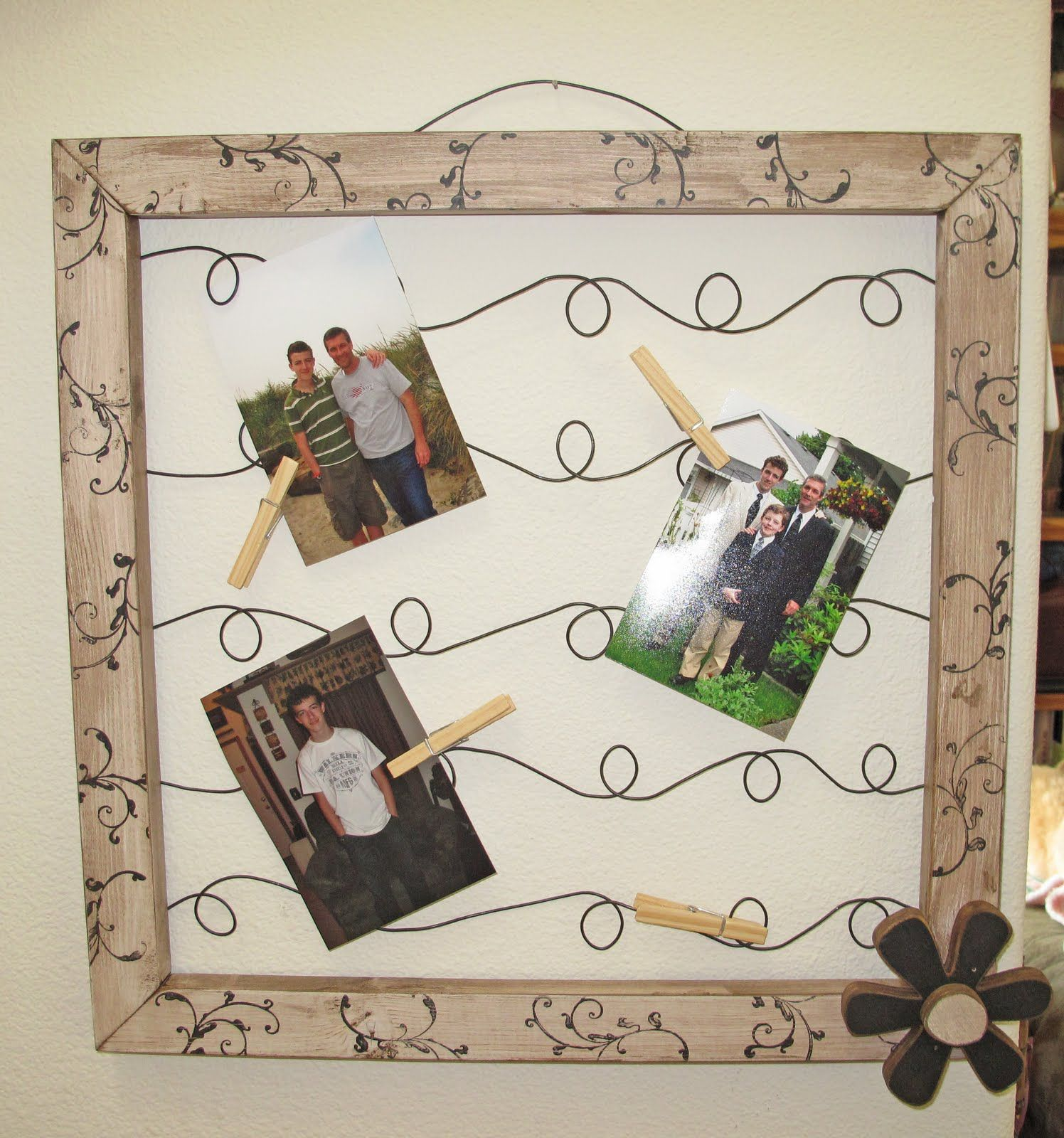 G j g j wire picturenote frames how to project ideas g j g j wire picturenote frames how to jeuxipadfo Image collections