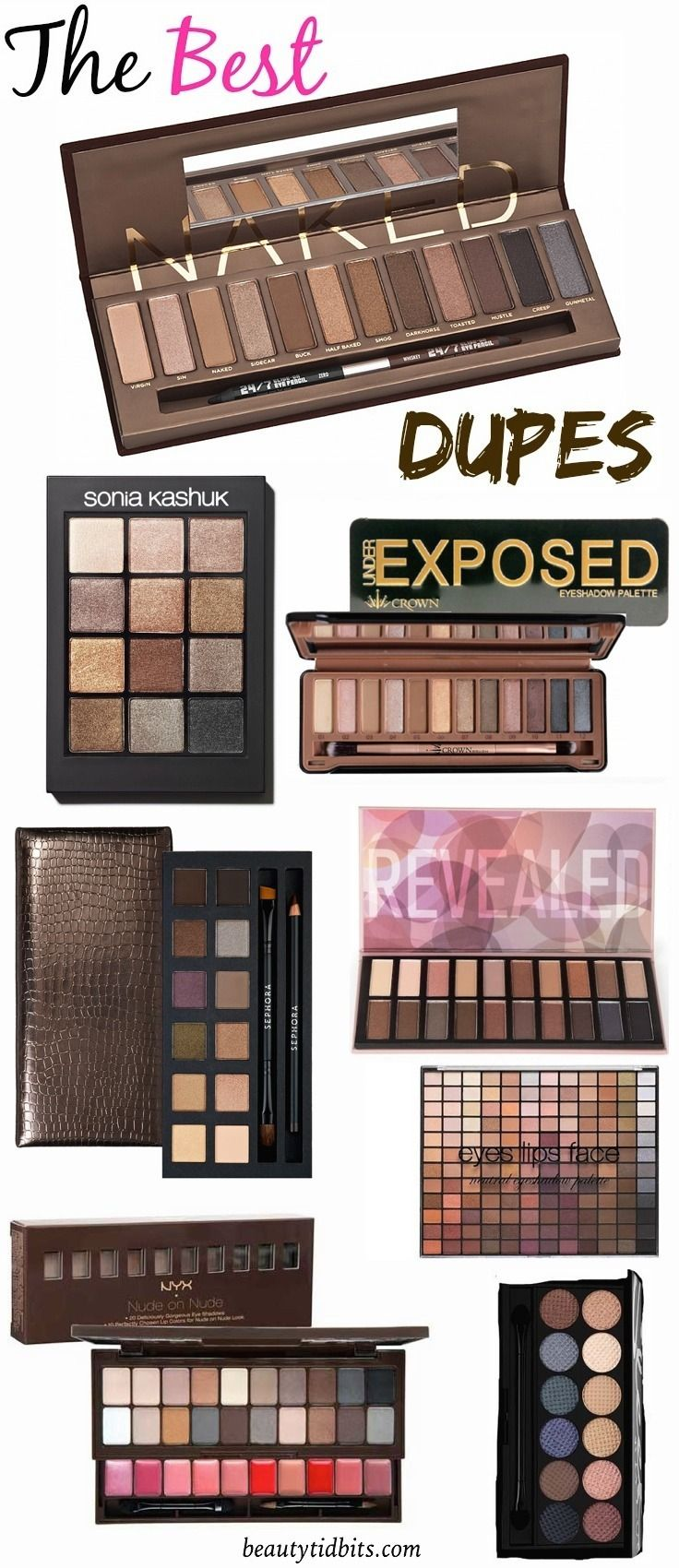 7 Affordable Dupes For Urban Decay's Naked Palette