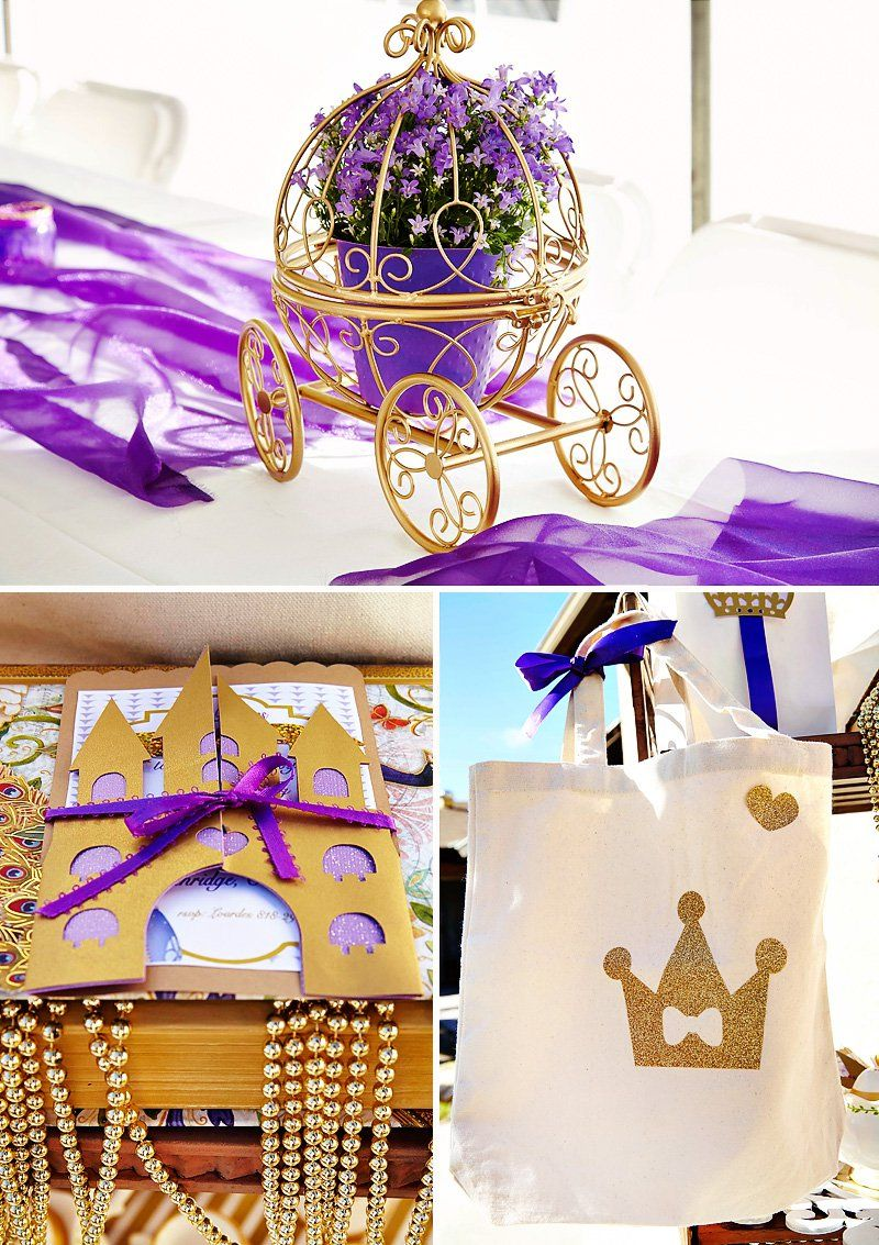 Purple, Gold & Magical Sofia the First Birthday Party