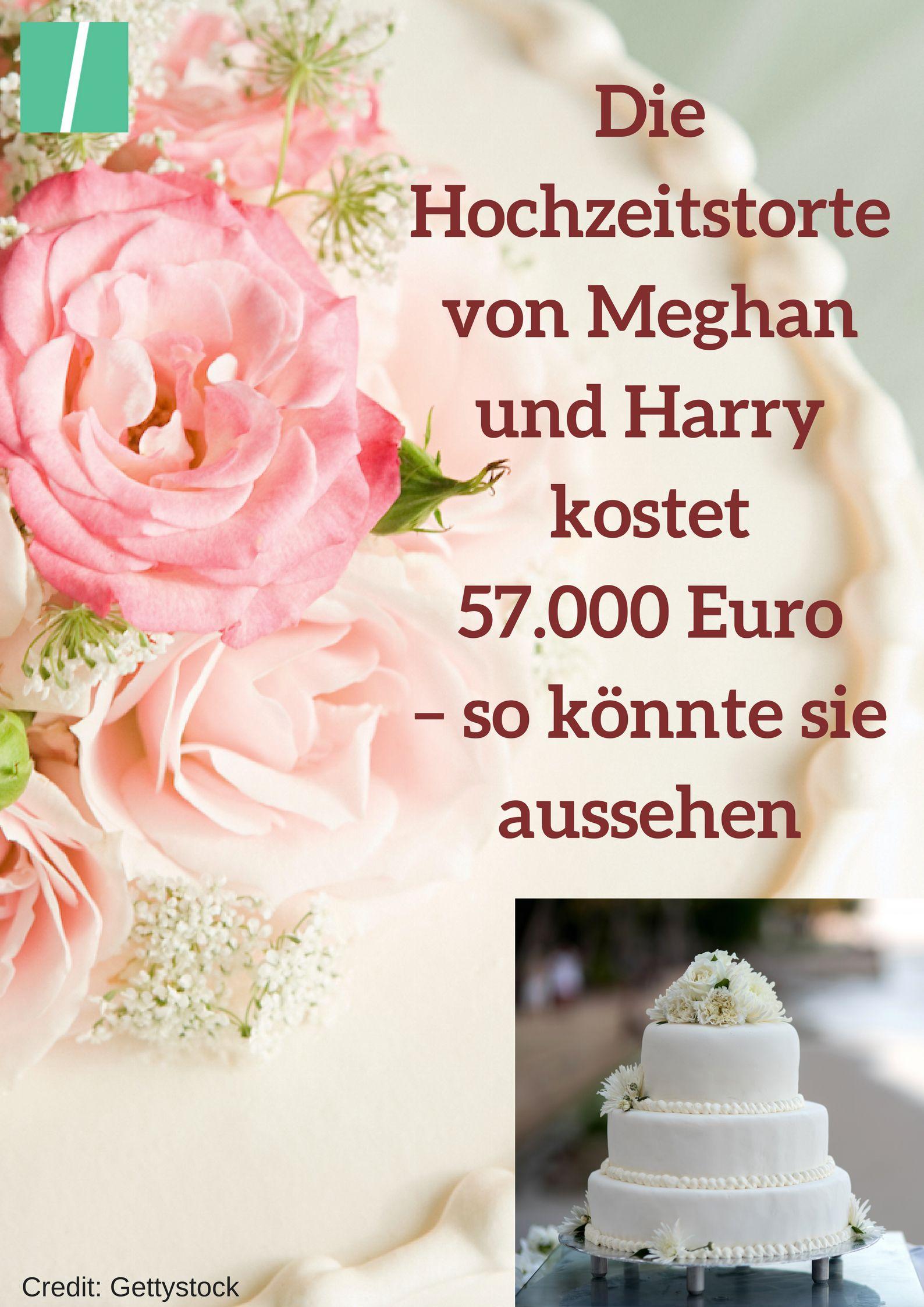 Die Hochzeitstorte Von Meghan Und Harry Kostet 57 000 Euro So