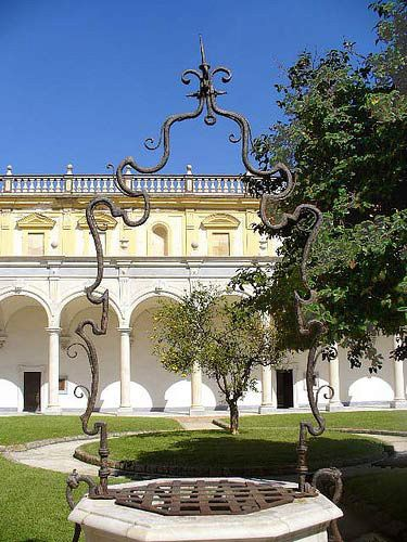 Chiostro della Certosa di San Martino - Naples, Italy