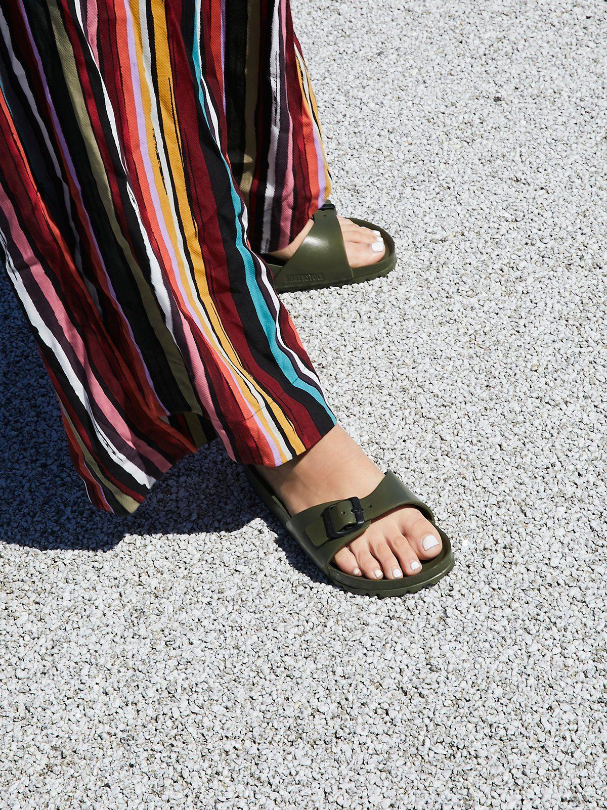 4102051b2 EVA Madrid Birkenstock | Slip-on Birkenstock sandals featuring an EVA  footbed and outsole.