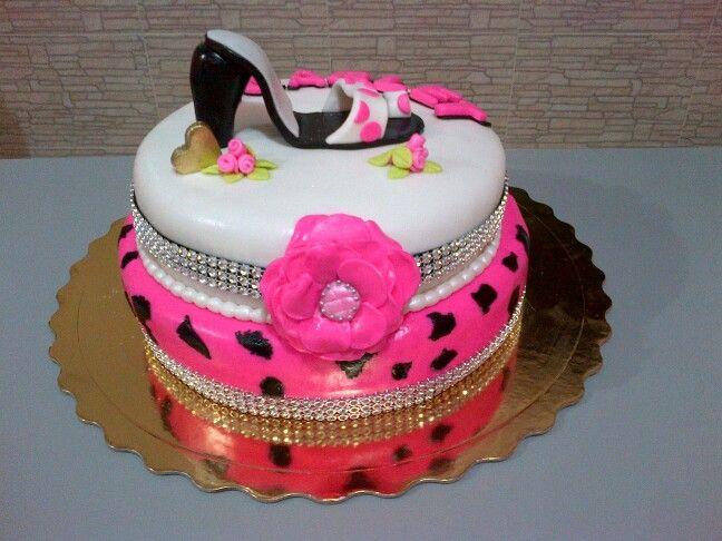 Torta con zapato