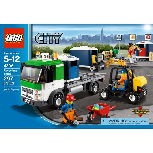 Lego Toys At Walmart : Lego city recycling truck only at walmart trucks and