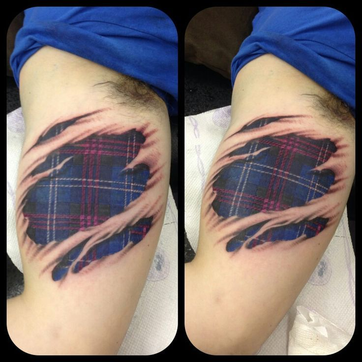 23 Scottish Tattoo Designs Ideas: Image Result For Tattoo Of Skin Ripping With Scottish