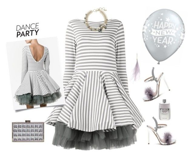 """Dance Party"" by lence-59 ❤ liked on Polyvore featuring Natasha Zinko, Hillier Bartley, Lanvin and Gucci"