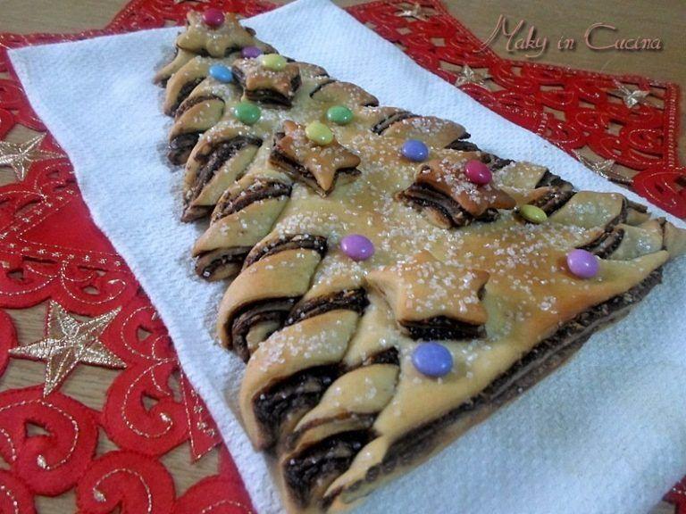 Ricette Dolci Natalizi Bimby.Ricetta Albero Di Natale Bimby Dolce Alla Nutella E