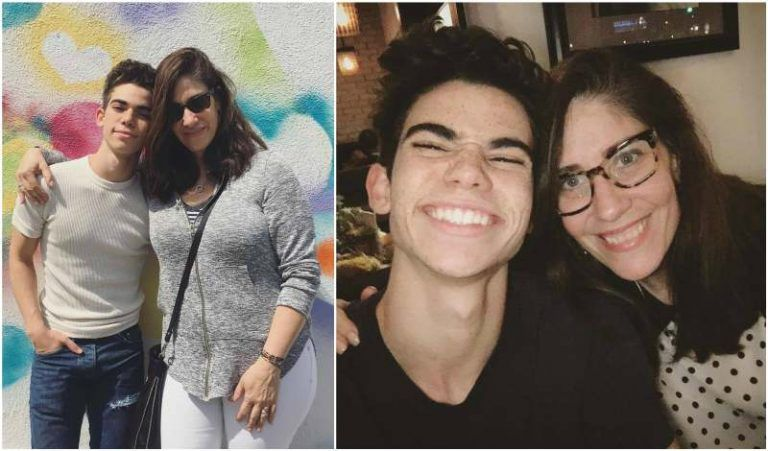 The Small Supportive Family Of Cameron Boyce Sister Parents Bhw Cameron Boyce Cameron Boyce Family Cameron