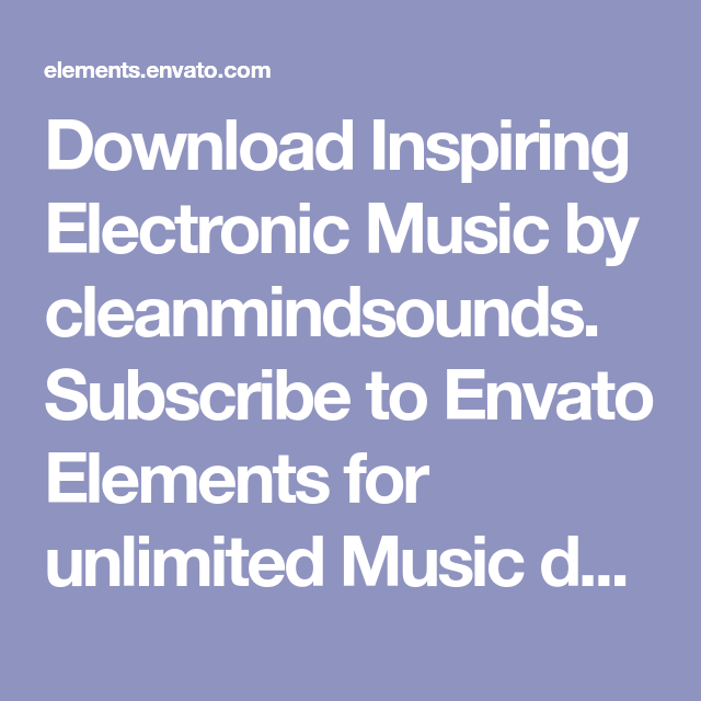 Download technology background inspiring music by cleanmindsounds.
