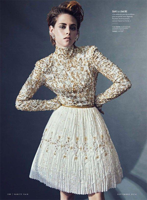 Kristen Stewart in Vanity Fair France