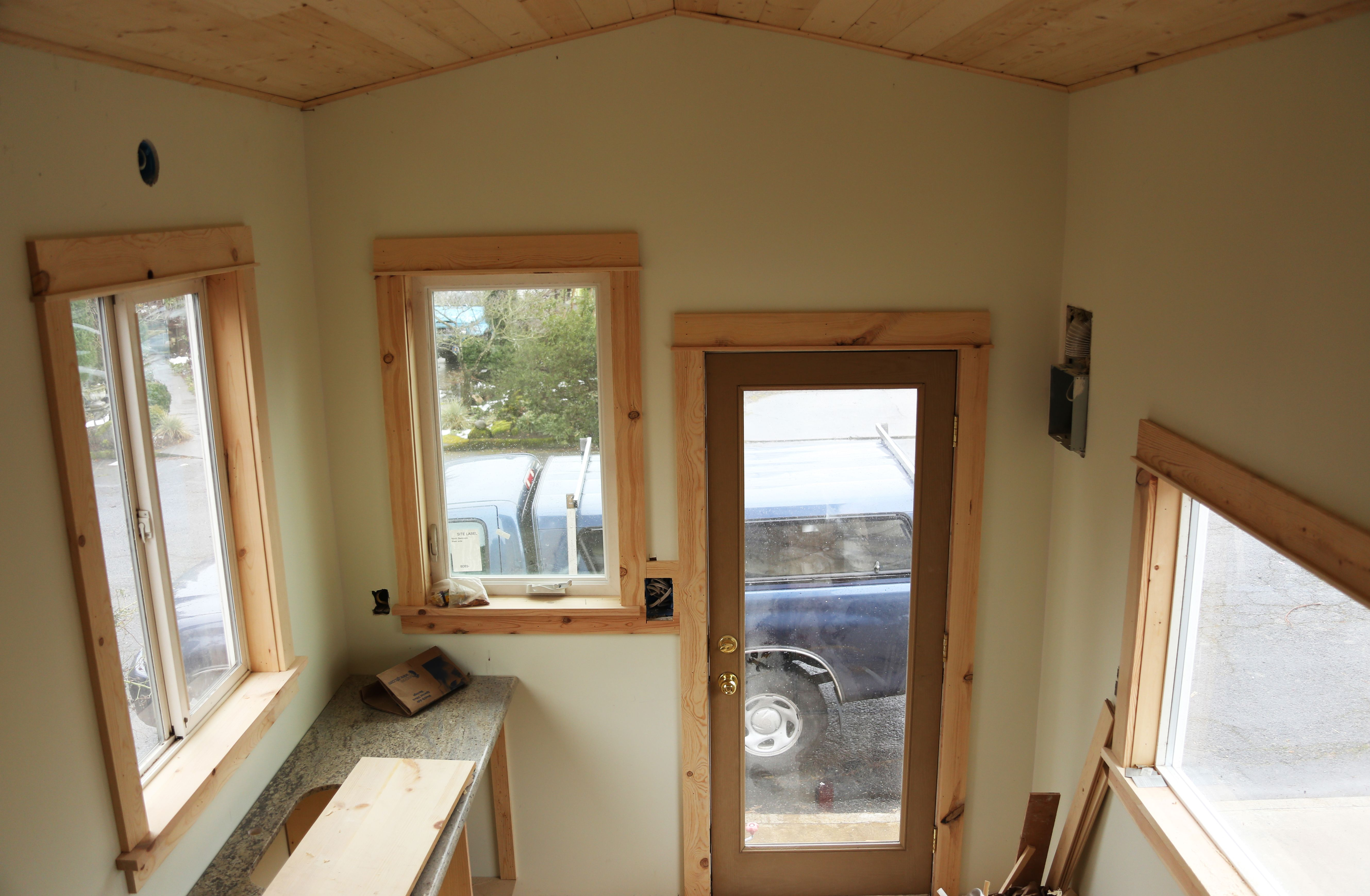 Rustic window trim styles - 1000 Images About Iny House