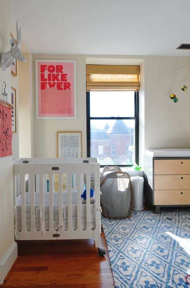 House Tour: Bright and Colorful Family D.C. Apartment | Apartment Therapy