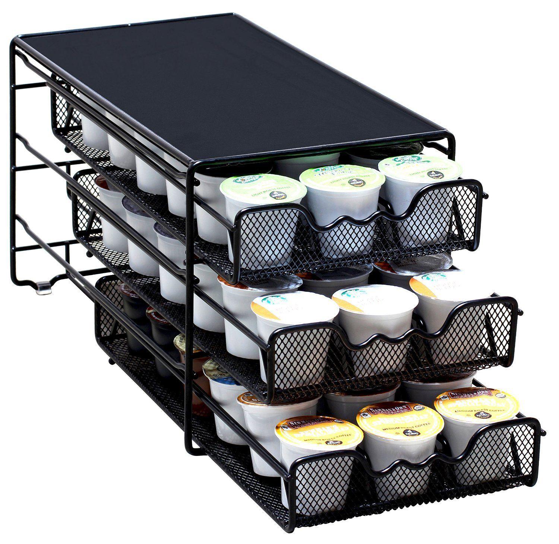 Decobros 3 tier drawer storage holder 54 keurig kcup