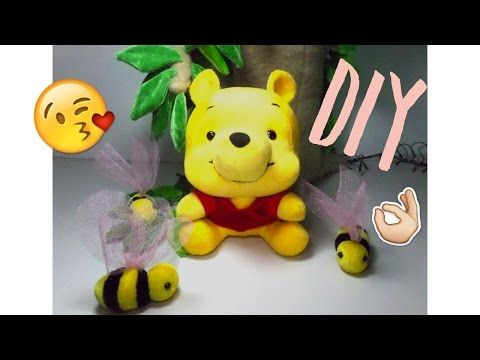 Como hacer peluche de Winnie Pooh Baby| How to make stuffed of Baby Winnie Pooh - YouTube