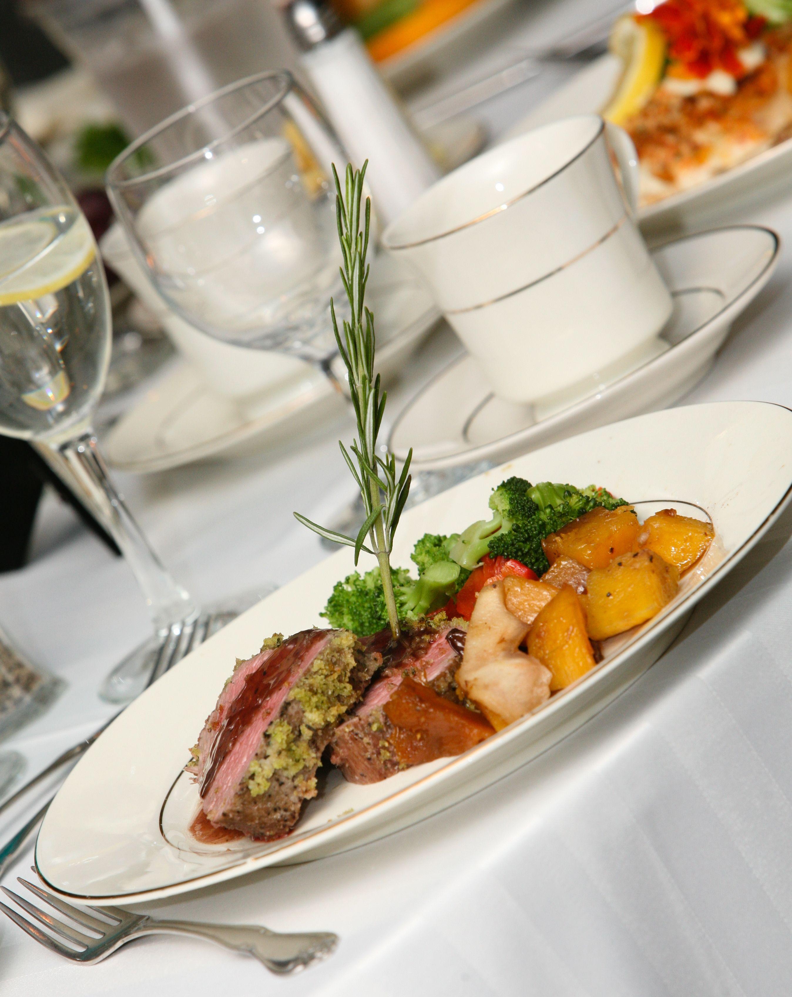 So delicious! #FineCateringbyRussellMorin    www.eccweddings.com