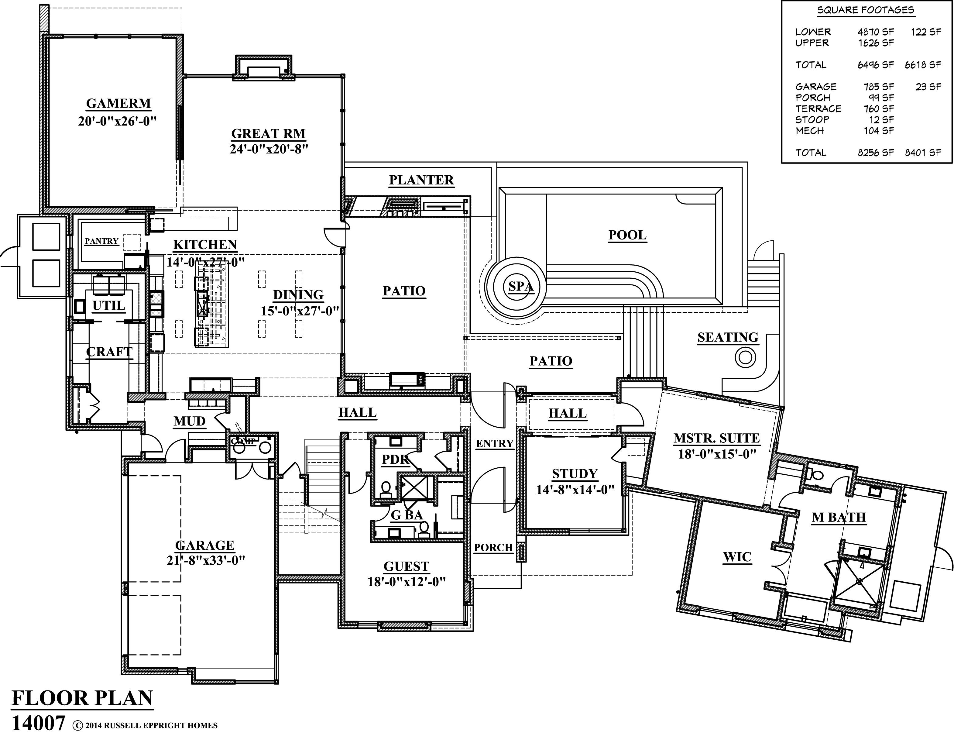 Cornerstone arch plan bob wetmore architect floor plan for Bob house plans