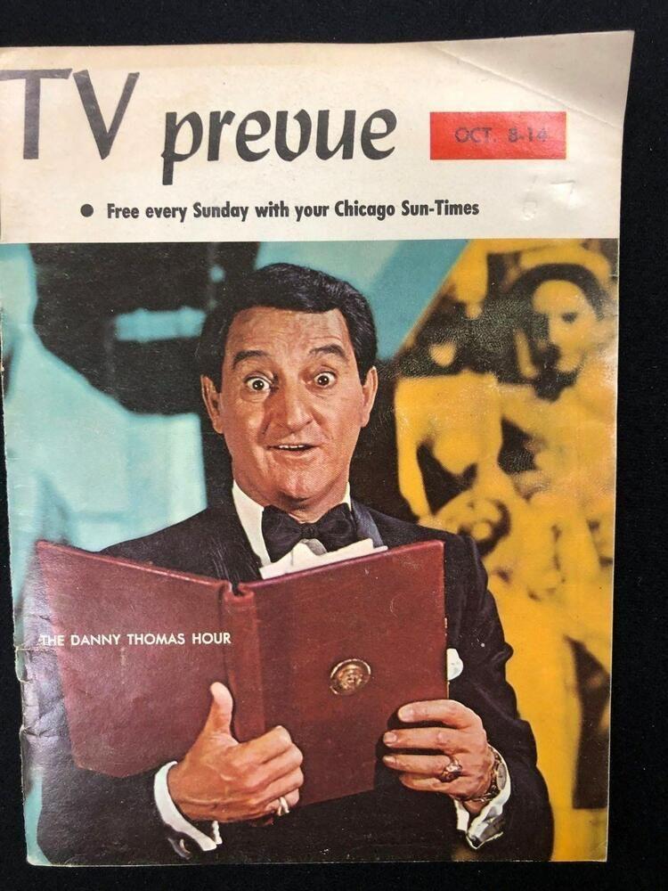 Details about TV PREVUE Chicago SunTimes digest October 8