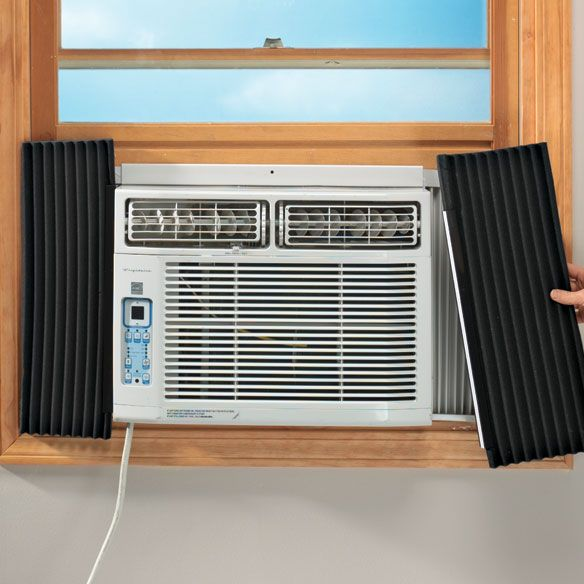 Air Conditioner Side Insulating Panels Energy Savers Window Air Conditioning Units Indoor Air Conditioner Air Conditioner