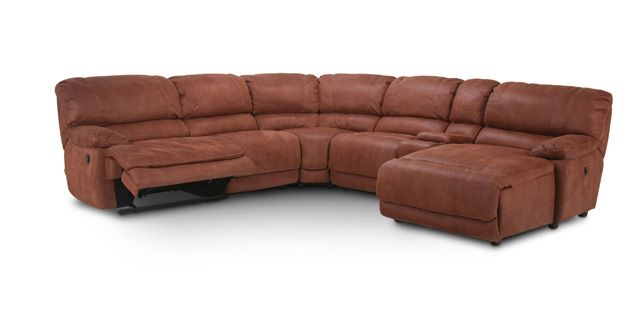 Sofa Mart The Cloud Ii 6 Pc Sectional Ms Cec2nt1
