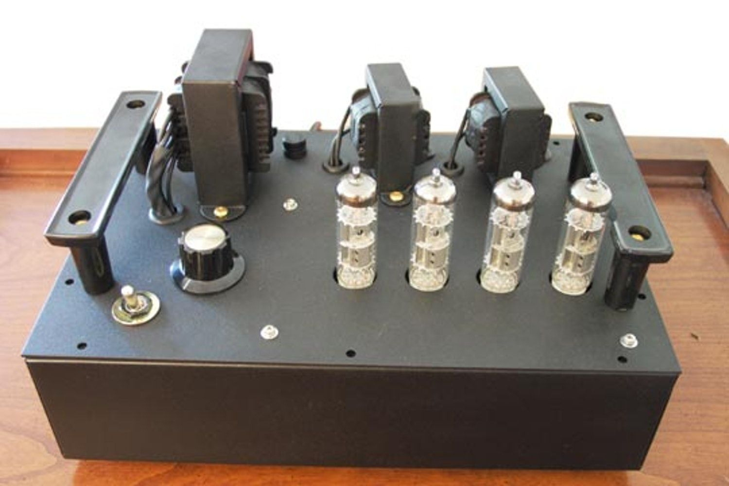 Diy Tube Amplifier Kit Build In Recycled Box Part 1 Guitar Project We A Using This Basic Schematic