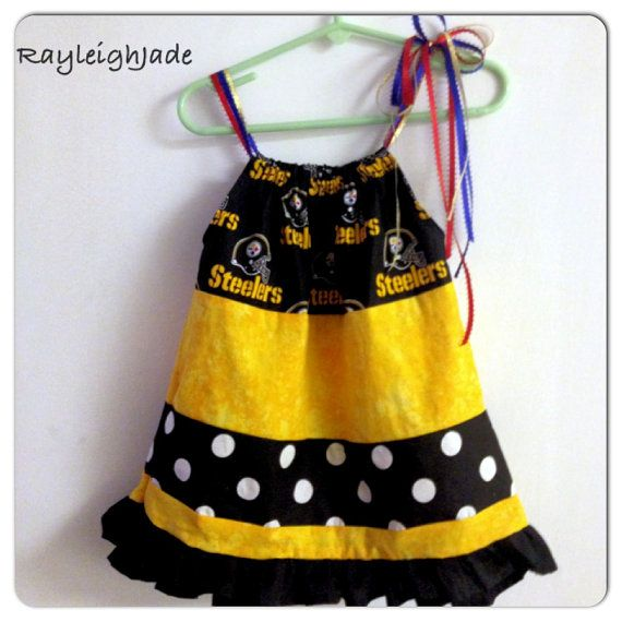 6ffe82033 Pittsburgh Steeler Dress by RayleighJade on Etsy