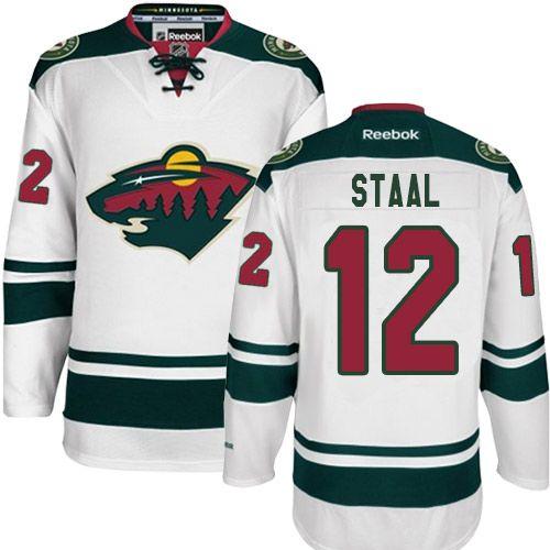 Reebok Minnesota Wild  12 Women s Eric Staal Premier White Away NHL Jersey 544adcbdb