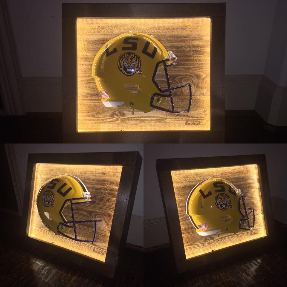 Geaux tigers football helmets lsu helmet creative gifts