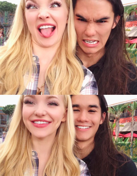 Dove Cameron and Booboo Stewart