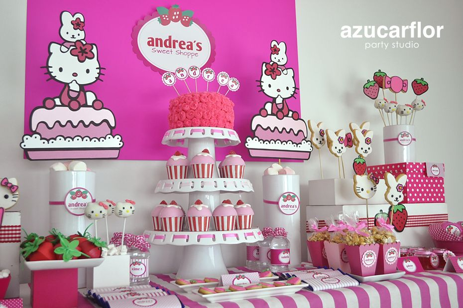 Mesa dulces party ideas pinterest mesas dulces - Decoracion mesas infantiles ...
