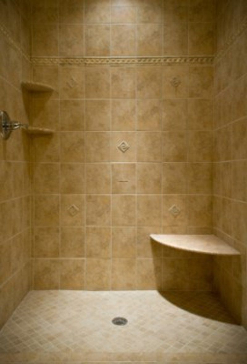 Simple bathroom shower - Small Bathroom Tile Shower Ideas Bing Images