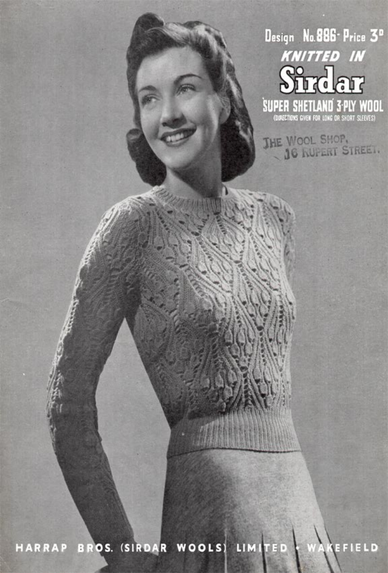Sirdar bluebell jumper pdfpdf google drive vintage bell stitch jumper free vintage knitting pattern from style bankloansurffo Image collections