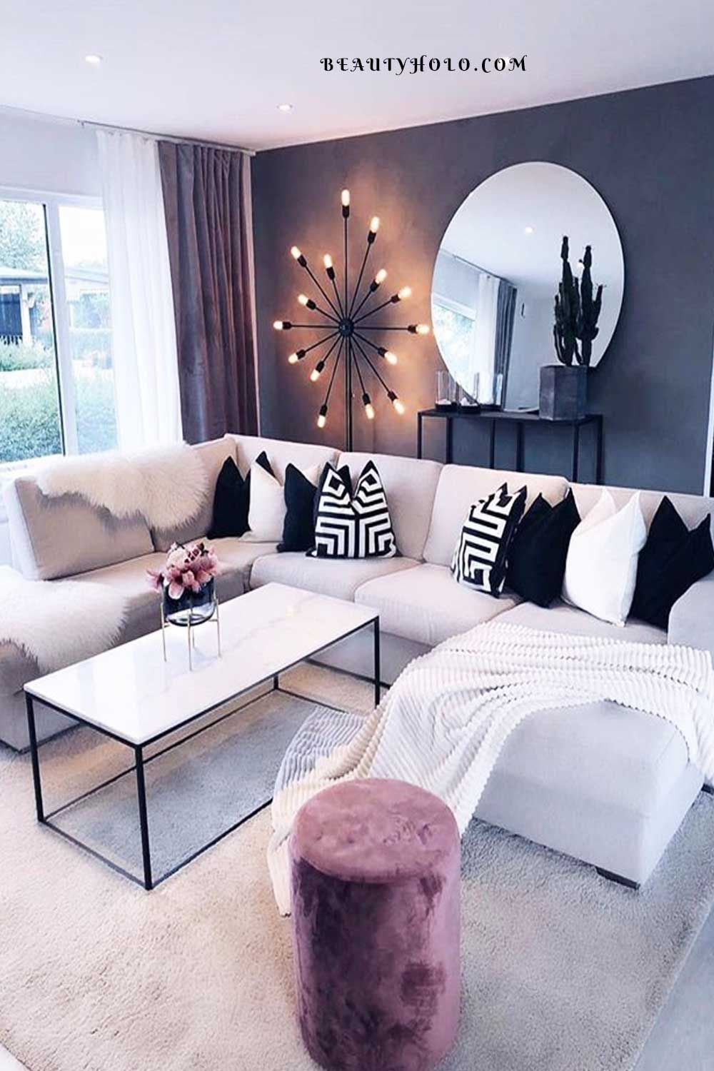 17 Best Home Decor Ideas For Living Room On A Budget In 2021 Pink Living Room Luxury Living Room Retail Furniture