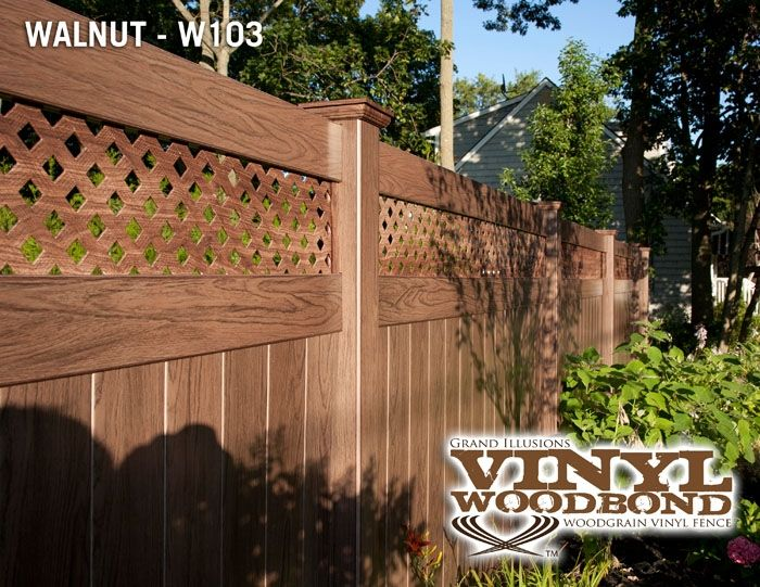 Illusions Pvc Vinyl Fence Photo Gallery Fence Design Vinyl Fence Vinyl Fence Panels