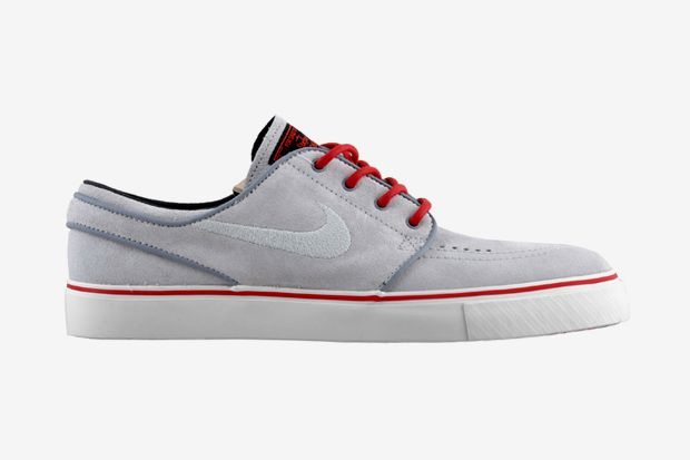 Nike Sb Grey And Red