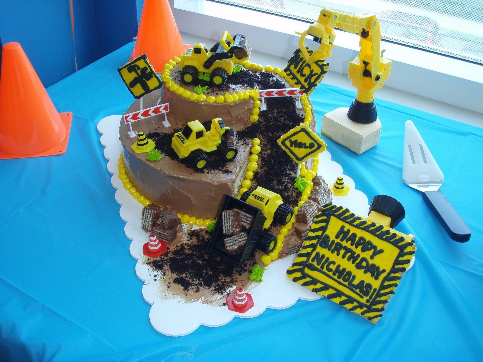 Construction Birthday Cake Loving These Birthday Cake Created By