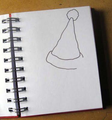 Ilustrador Alexiev Gandman: Paso a paso para dibujar un gato con sombrero