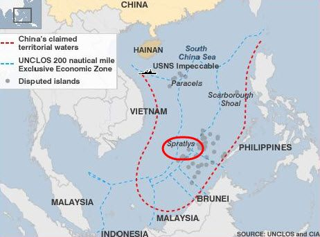 China plans to seize south china sea island from philippines says china plans to seize south china sea island from philippines says battle will be gumiabroncs Gallery