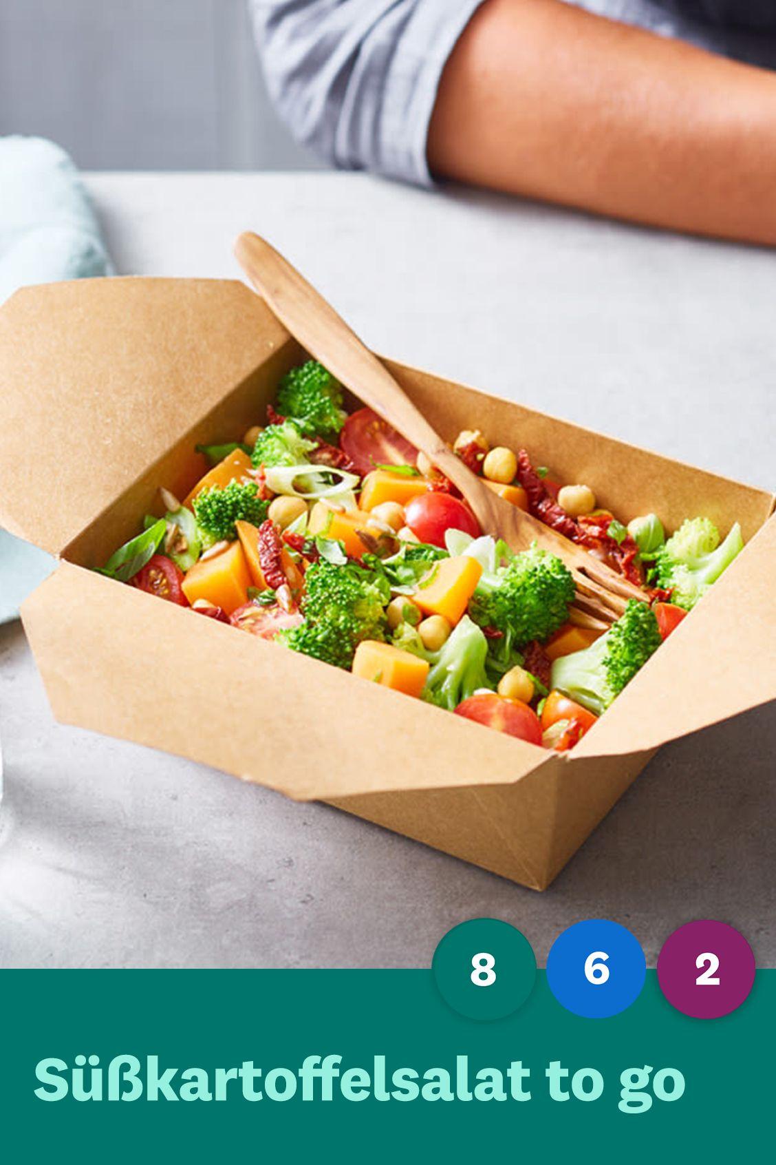 Photo of Sweet potato salad to go