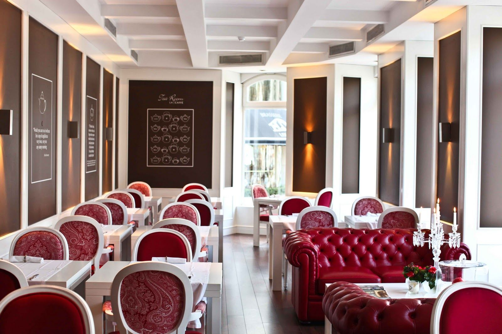 LA Caffé Tea Room - Pesquisa Google