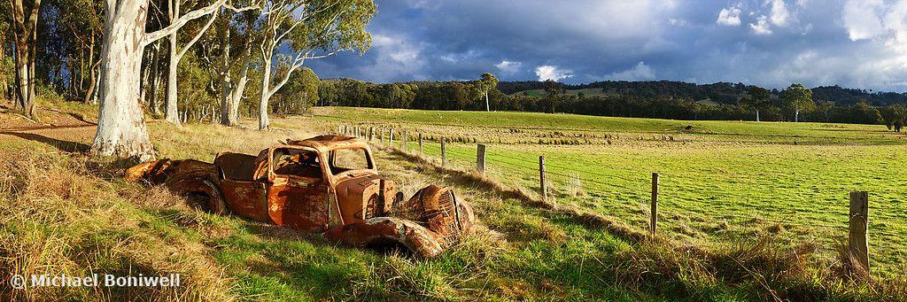 Australian Landscape Photography Times Gone By Tumbarumba New South Wales Australia Panoramic Framed Print New South Wales South Wales Landscape