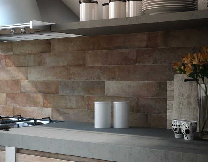 gres porcellanato effetto pietra pareti - Cerca con Google | New ...