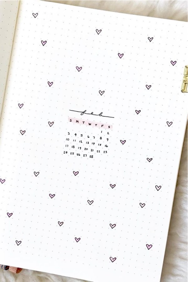 25+ Best Pink Themed Bullet Journal Spread Ideas For 2020 - Crazy Laura