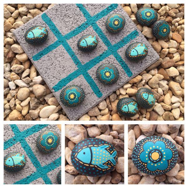 pintar piedras  09Lorena Tendencias DIY Hazlo tu mismo
