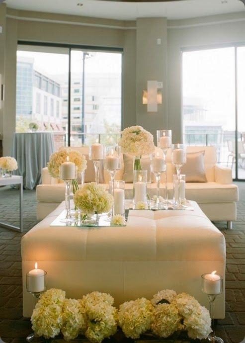 Living Room a la Wedding reception ... Very Pretty in ...