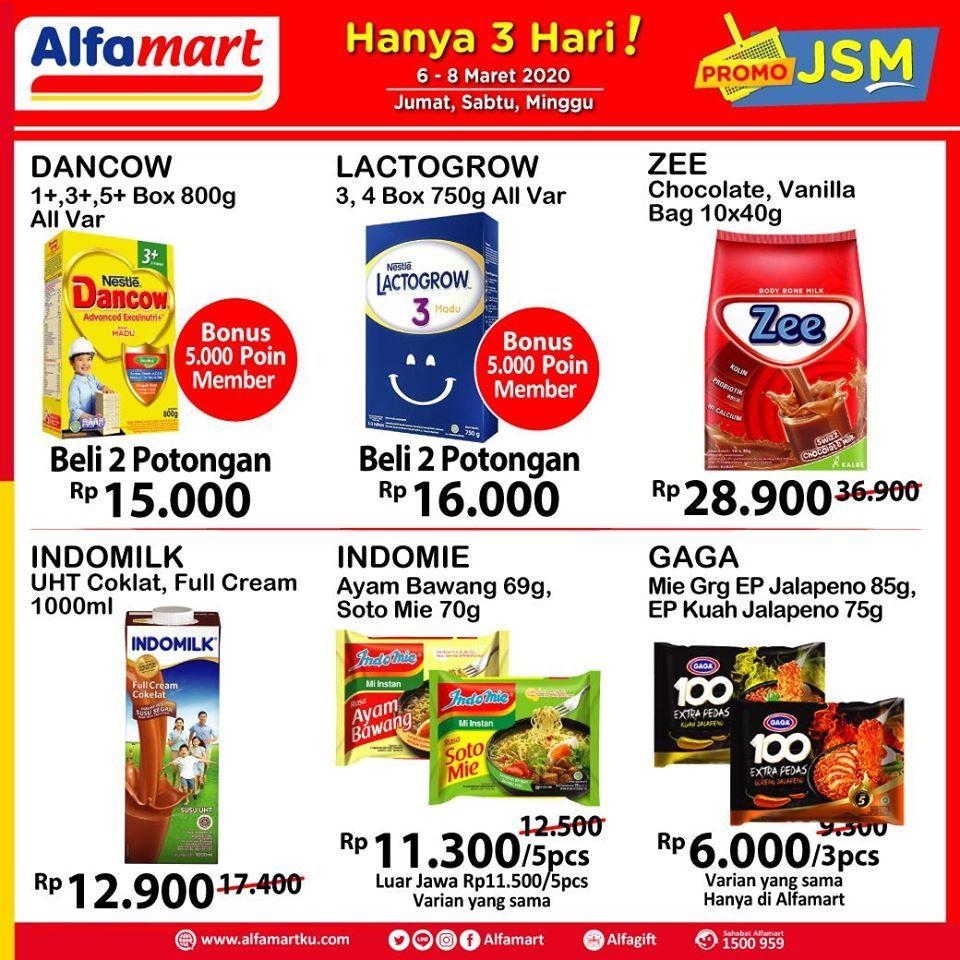 Promo Jsm Alfamart 6 8 Maret 2020 Di 2020 Brosur Produk