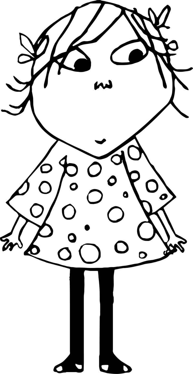 Lola Girl Coloring Page Coloring Pages For Girls Coloring Pages Coloring Pages For Kids